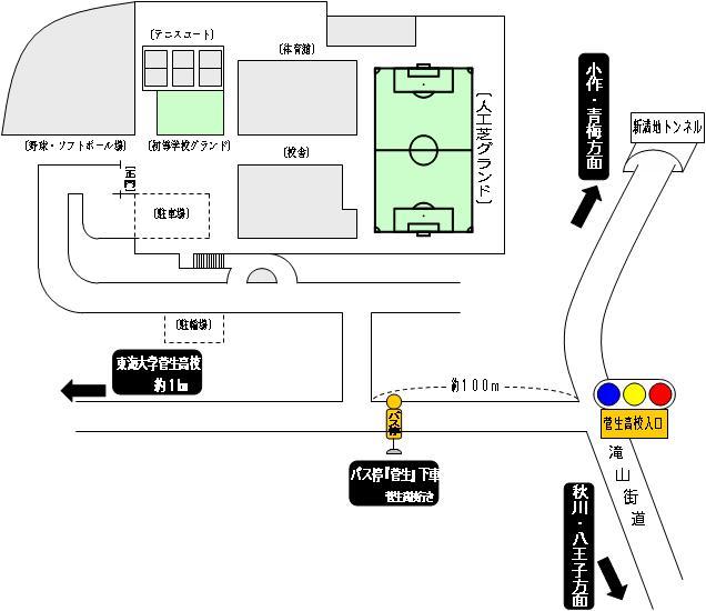 菅生学園 学びの城グランド